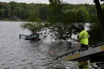 Two Teens Escape Car That Drives Into Raccoon Lake