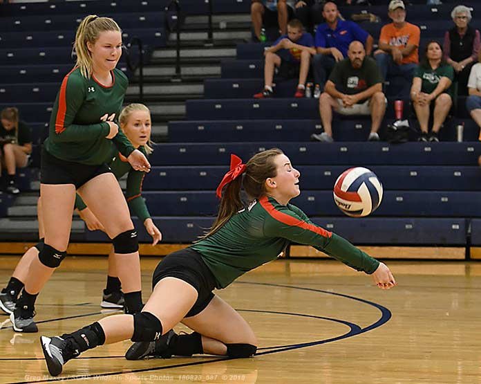 Lady Cats Fall At Central….Prep Volleyball Scores