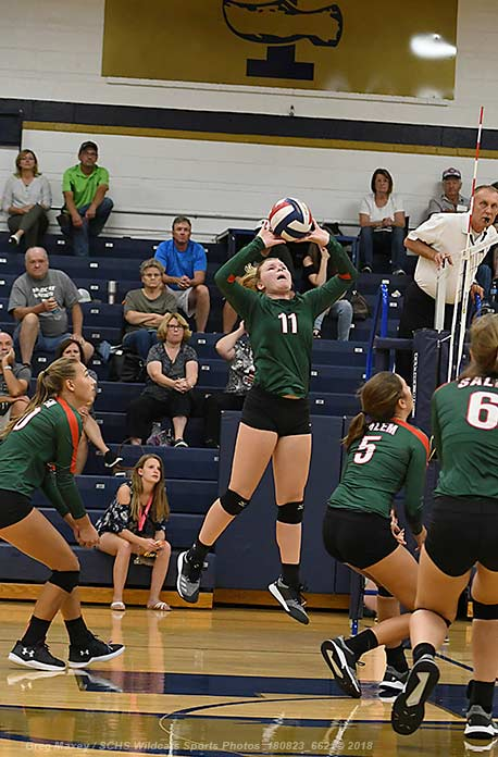 Salem Volleyball Back At It Tonight In Centralia…Will Play At Benton Tournament This Weekend