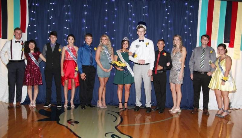 Christ Our Rock Names Homecoming Royalty