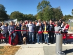 Ribbon Cut to Open Centralia Dog Park