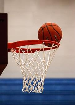 basketball and goal