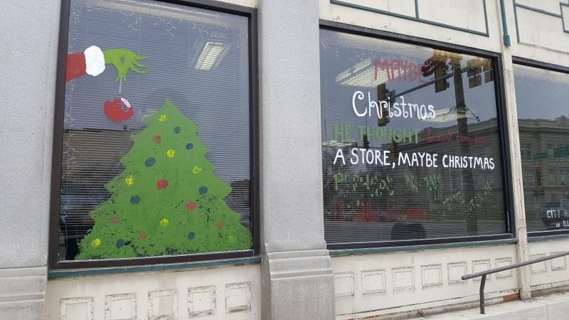 The winners selected in 'A Whoville Christmas Experience' window decorating contest