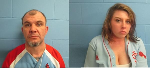 Two Granite City residents charged with rural Iuka burglary