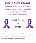 SC Cougars Welcome Back Alumn Andrew Snow And Neoga For Purple Night Tonight