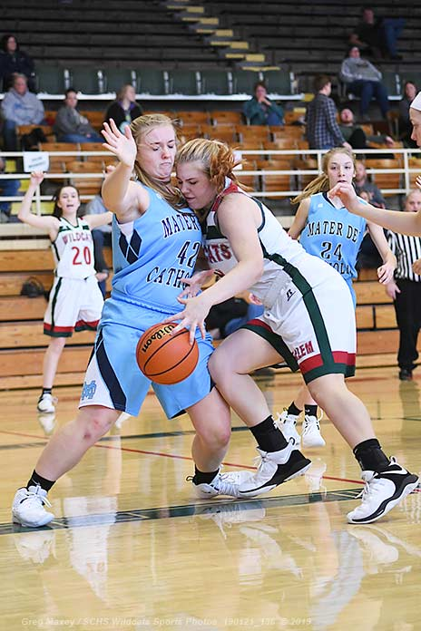 Lady Cats Fall To Mater Dei On Monday Afternoon