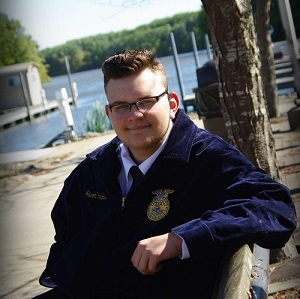 South Central FFA member recommended for highest Illinois FFA award