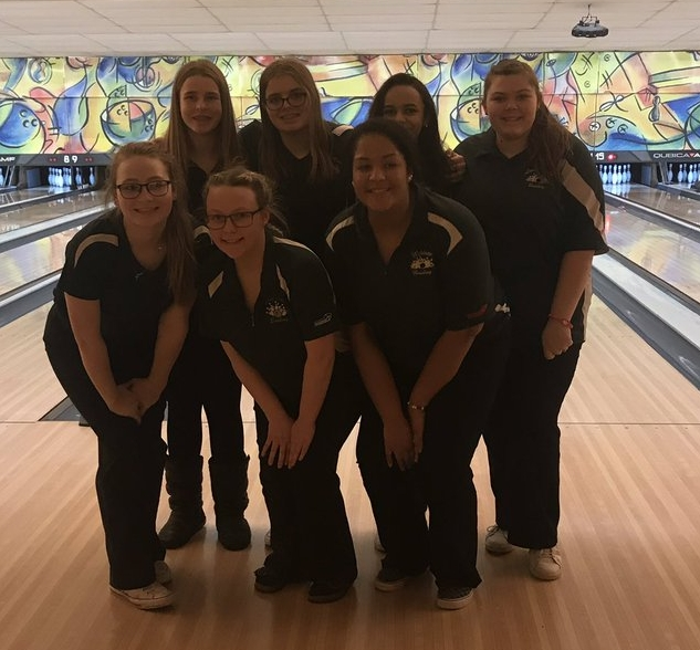 Girl Bowlers 2nd Sectionals