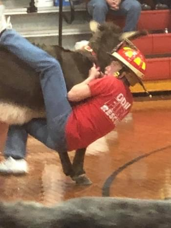 Odin Fire Department Donkey Basketball event raises estimated $3,000