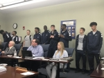 Kaskaskia College Board acts on personnel issues and honors boys basketball team