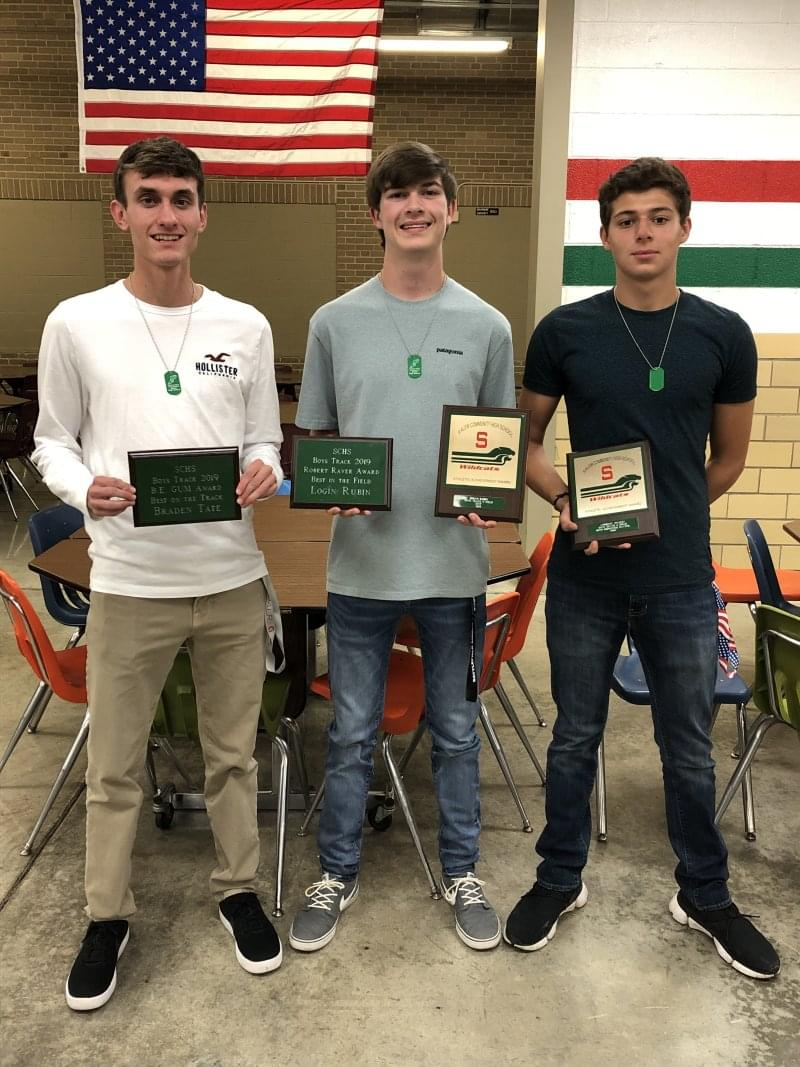 SCHS Boys Track Hand Out Awards