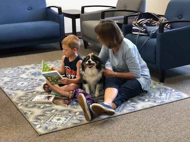 Therapy Dog Appearance At Bryan-Bennett Library