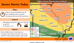 South Central Illinois in enhanced zone for severe weather Tuesday afternoon