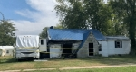 Odin home and motor home heavily damaged by Sunday morning fire