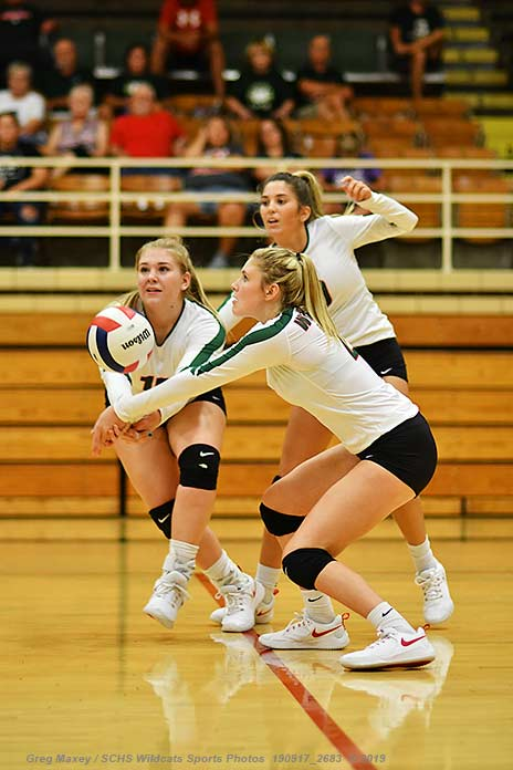 Lady Cats Fall To Columbia, Prep Volleyball Results