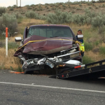 Three adults, four children injured in Hwy 12 collision