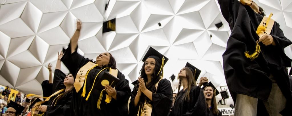 Number of degrees granted in Walla Walla County higher than the state