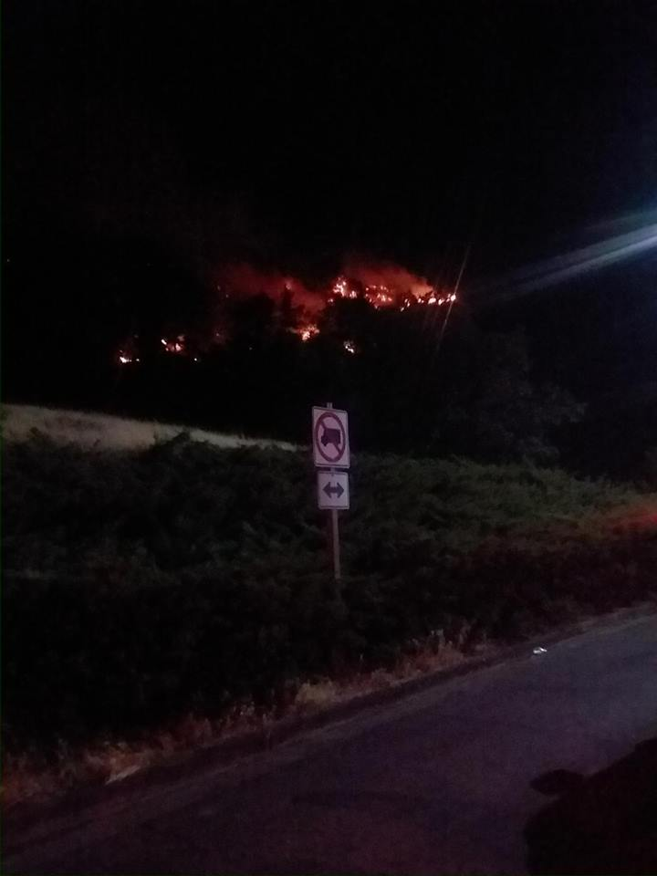 Fire near Mosier declared a conflagration
