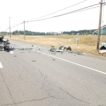 Three dead after head-on collision on Hwy 18