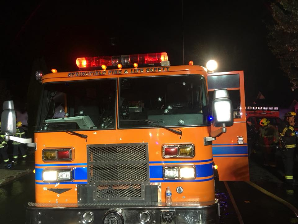 Springfield firefighters come under fire