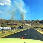 Area firefighters helped hold the line on Powerline Fire