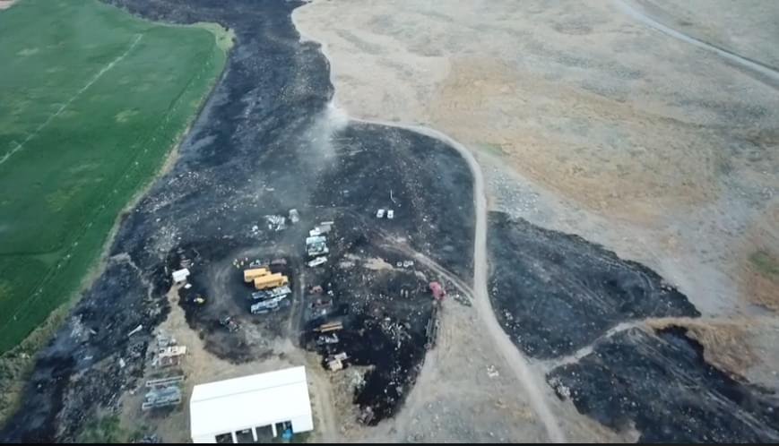 Okanogan firefighter injured in Spring Coulee Fire