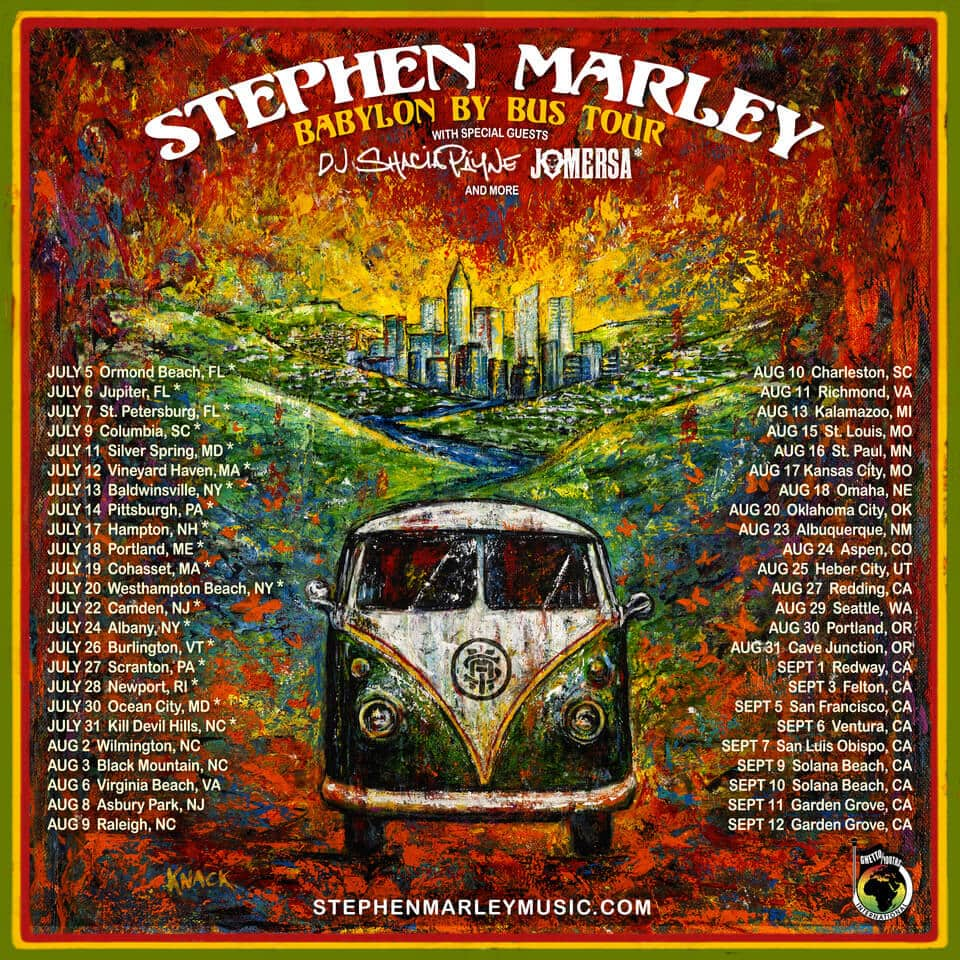 Stephen Marley at The South Shore Music Circus
