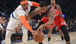 Wall has 29 points, 13 assists as Wizards top Knicks 113-110