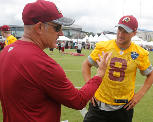 Redskins promote Cavanaugh, Manusky to coordinator positions