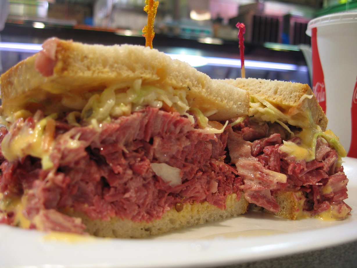 First Look: Who makes a good Reuben sandwich in Bakersfield?