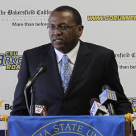 "Rod and Bridget Barnes, the coach and ""team mom"" of CSUB basketball, talk about their roles"