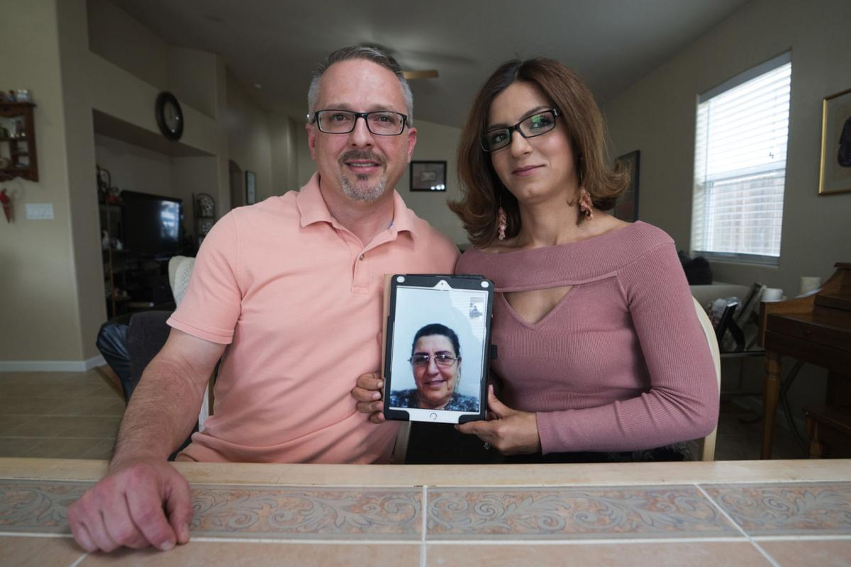 A local couple fights the bureaucracy to get her ailing mother a visa from Syria