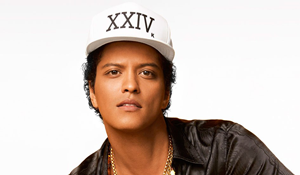 Bruno Adds Some Heat To Upcoming Tour