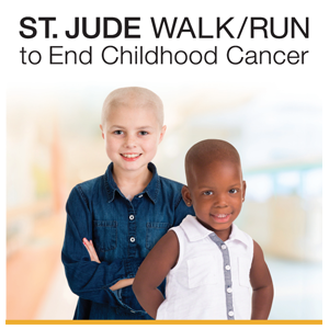 Sign Up For The ST. JUDE Walk & Run