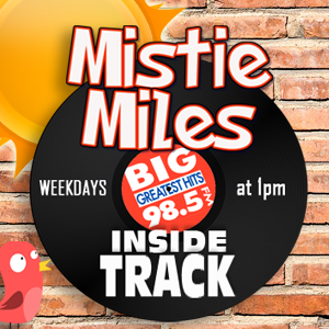 Mistie Miles' INSIDE TRACK! Weekdays at 1pm