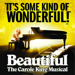 Beautiful – The Carole King Musical at Popejoy Hall June 12 – 16