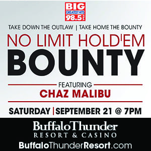 Knock Out Chaz Malibu & Win Big at Buffalo Thunder!