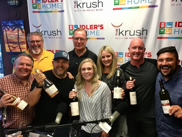 Liquid Lunch – 6/5/18 – Talking About the Central Coast Wine Competition with Eberle Winery, Ancient Peaks, Sinor-LaVallee, and Laetitia Winery