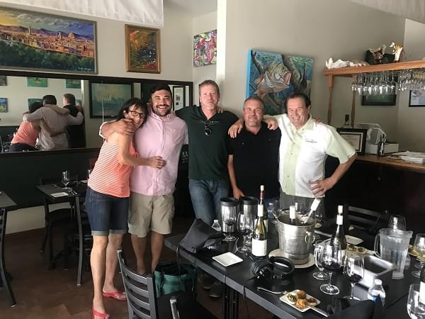 The Cork Dorks – 8/15/18 – Revisiting Tablas Creek Wines with Jason Haas at Paso Terra featuring Chef Andre Averseng and Christina Averseng