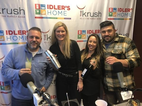 Liquid Lunch – 01/22/19 – Nightcap in SLO in studio to talk about the new Cocktail Lounge
