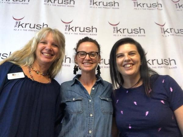 Krush In Studio – 04/18/19 – Suzanne talks to Jennifer Adams and Jane Pomeroy of RISE SLO