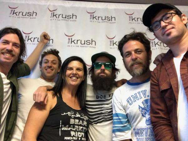 Krush Lounge – 07/11/19 – The Brothers Comatose in studio