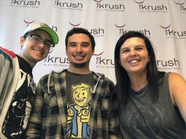 Krush In Studio – 08/09/19 – Kyle and Carlos Plummer in studio talking Indiegogo Campaign