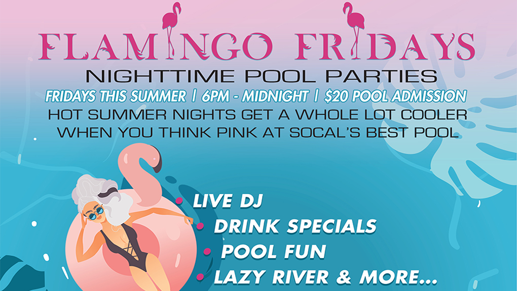Flamingo Friday at Casino Morongo 7/27
