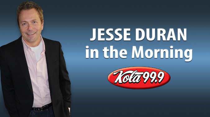 Listen to Jesse Duran in the Morning