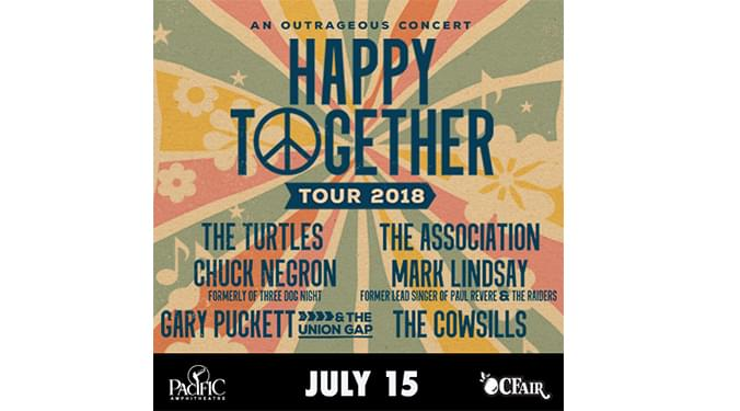 Happy Together 2018 Tour