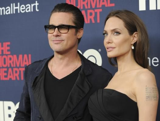 Pitt-Jolie in custody battle