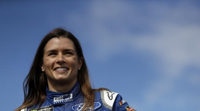 Danica Patrick is the first woman ever