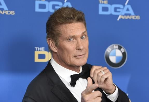 Own a piece of Hasselhoff history