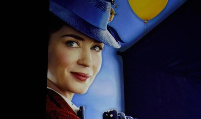 "The trailer is out for ""Mary Poppins Returns"" 